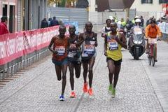 La trentunesima maratona di Venezia Immagini Stock Libere da Diritti