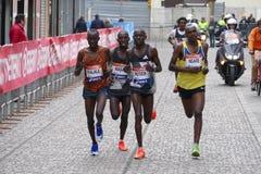 La trentunesima maratona di Venezia Fotografia Stock