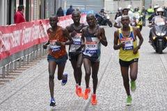 La trentunesima maratona di Venezia Immagini Stock