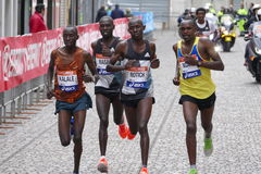 La trentunesima maratona di Venezia Fotografie Stock