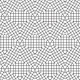 La triangle géométrique abstraite de cube raye l'illustration de Mesh Vector Seamless Pattern Background de grille Images stock