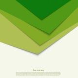 La triangle verte abstraite forme le fond illustration de vecteur