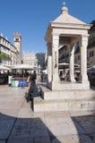 La tribuna del erbe Verona Veneto Italia Europa del delle della piazza Fotografia Stock