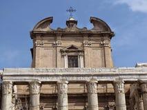 La tribuna romana Fotografia Stock