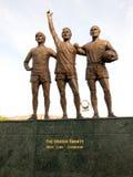 La trinidad unida de Manchester United fotografía de archivo