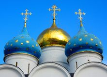 La trinità Lavra della st Sergius Immagini Stock