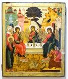 La trinité de vieux testament, XVIIème siècle Image stock