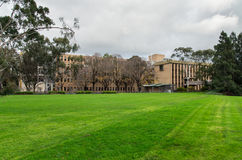 La Trobe University in Bundoora. Faculty buildings at La Trobe University in the suburb of Bundoora in Melbourne, Australia royalty free stock image