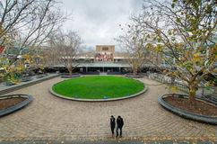 La Trobe University in Melbourne Australia. La Trobe University in the suburb of Bundoora in Melbourne, Australia on 6 July 2014. This is the Agora, the central royalty free stock image