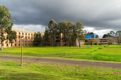 La Trobe University in Melbourne Australia. La Trobe University in the suburb of Bundoora in Melbourne, Australia on 6 July 2014. This is the library in the stock photos