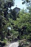 La troisième tour du Saint-Marin, Montale photographie stock libre de droits