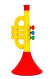 La trompeta de Toy Child Fotos de archivo
