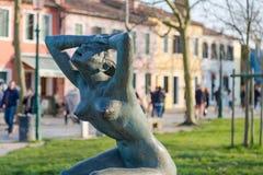 La Tua Pace Statue Stock Image