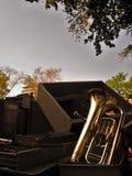 La tuba tenor Imagen de archivo libre de regalías