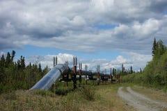 La tubería de Alaska fotografía de archivo libre de regalías