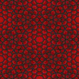 La tuile ou le fond rouge abstraite de pierre de grenat a rendu sans couture Image libre de droits