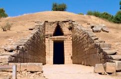 La tumba antigua Fotografía de archivo libre de regalías