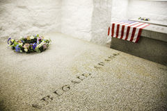 La tumba de Adams en Quincy Imagenes de archivo