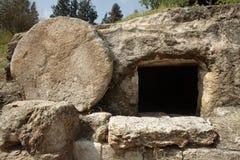 La tumba de Cristo imagen de archivo libre de regalías