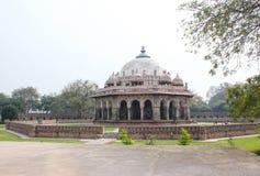 La tumba de Isa Khan Niyazi, complejo Nueva Deli de Humayun Tomb Imagen de archivo