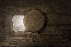 la tumba de Jesús imágenes de archivo libres de regalías