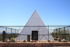 La tumba de la caza del gobernador de Arizona imagen de archivo libre de regalías