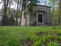 La tumba de la esfinge - sociedad secreta en Dartmouth Imágenes de archivo libres de regalías