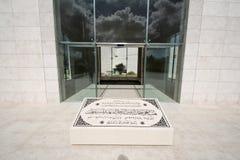 La tumba de Yasser Arafat Foto de archivo libre de regalías