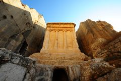 La tumba de Zechariah Foto de archivo libre de regalías