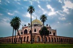 La tumba del Humayun Imágenes de archivo libres de regalías