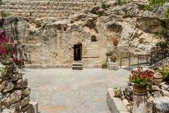 La tumba del jardín en Jerusalén, Israel imágenes de archivo libres de regalías
