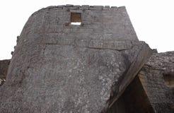 La tumba real en la ciudad antigua de Machu Picchu Imagen de archivo
