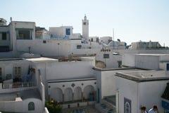 La Tunisia bianca Fotografie Stock Libere da Diritti