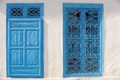 La Tunisia. Sidi Bou Said Fotografia Stock Libera da Diritti