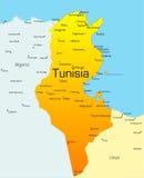 La Tunisie illustration stock