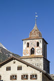 La Tuor in Bergüns Stock Images