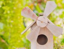 La turbina è fatta di legno Immagini Stock Libere da Diritti