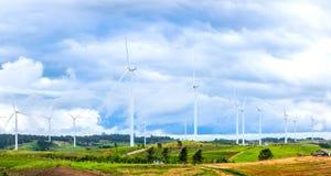 La turbine de vent produit de l'électricité 001 photo stock