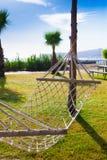 La Turchia, amaca in giardino tropicale Fotografie Stock Libere da Diritti