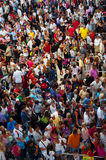La Turchia, Antalya, folla della gente Fotografia Stock