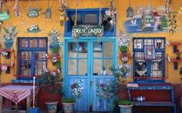 La Turchia Bursa villaggio bazar entrata anteriore luglio 2015 Fotografia Stock Libera da Diritti