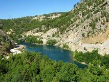 La Turchia. Canyon verde Immagini Stock