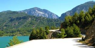 La Turchia. Canyon verde Fotografie Stock Libere da Diritti
