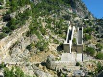 La Turchia. Canyon verde. Diga Immagine Stock Libera da Diritti