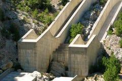 La Turchia. Canyon verde. Diga Fotografie Stock Libere da Diritti