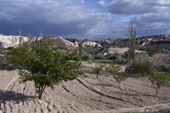 La Turchia, Cappadocia Fotografie Stock
