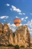 La Turchia, Cappadocia, volante in una mongolfiera Fotografia Stock Libera da Diritti