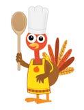 La Turchia con il cucchiaio Fotografia Stock