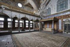 La Turchia, Costantinopoli, palazzo di Topkapi fotografia stock