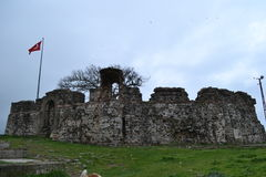 La Turchia, Costantinopoli, Riva, Castell Fotografia Stock
